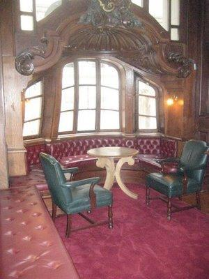 New York Yacht Club Inside after restoration